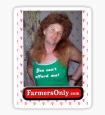 Farmers Only Meme - farmers only stickers redbubble
