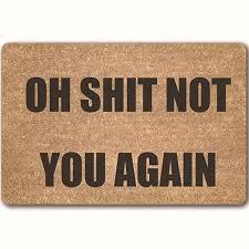 doormat funny varmhus funny words printed mat doormat entrance door non slip floor