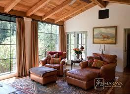 Mediterranean Design Style Old California Mission Style Sitting Room Mediterranean Family
