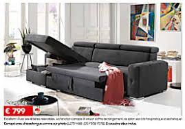canape toff meubles toff promotion excellent avecses têtières relevables sa