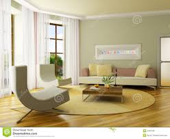 3d render interior stock photo image of decoration living 2440180