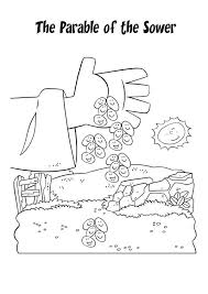 download this sample coloring page of jesus telling the parable of