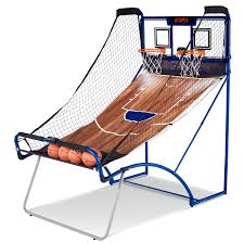 espn ez fold basketball game with pc backboard md sports