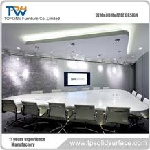 marble conference room table artificial marble stone big round conference table for office room