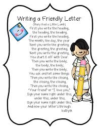 friendly letter format kids gallery letter samples format