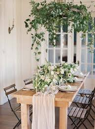 18 spring floral table setting styles u2014 the bohemian wedding