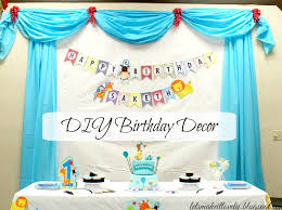 Personalized Photo Backdrop Let U0027s Make It Lovely Diy Birthday Party Backdrop Decor And More