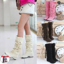 womens boots ebay uk flat tassel boots ebay