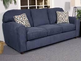 navy fabric modern sofa u0026 loveseat set w options