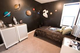 exciting bedroom theme ideas with brown bed near the window add