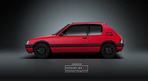 peugeot 205 peugeot 205 gti by aerodesign94 on deviantart