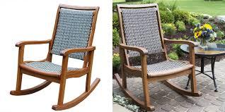 Western Rocking Chair Outdoor Resin Wicker Rocking Chairs Concept Home U0026 Interior Design