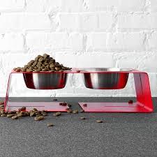 doca pet dogleg diner elevated dog bowl hayneedle