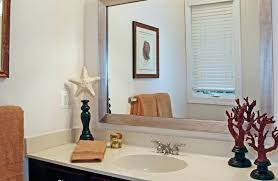 Mirror Trim For Bathroom Mirrors Decorate Mirror Frame Framing Bathroom Mirrors Tropical With