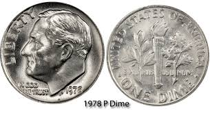 1978 dime error 1978 p roosevelt dime value