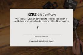 store gift cards diyre store gift card diy recording equipment