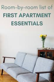 11 things your first apartment needs ideas pinterest