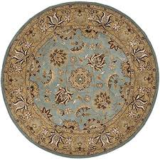 Teal And Gold Rug Round Teal Rug Amazon Com