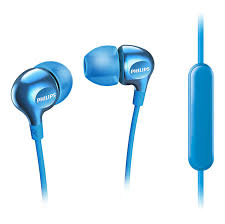 Light Blue Beats Headphones With Mic She3705lb 00 Philips