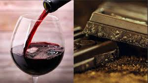 wine chocolate new study says chemical in wine chocolate could aging