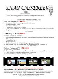 wedding packages wedding packages shay casserley