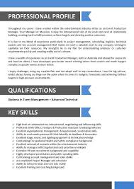 Production Manager Resume Template Tour Manager Resume Employee Relation Manager Resume Bpo Resume