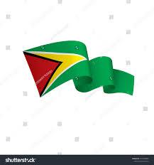 Guyana Flag Guyana Flag Vector Illustration Stock Vector 1015553962 Shutterstock