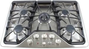 Gas Countertop Range Kitchen Cooktops Ge Cafe Cgp350setss 30 Inch Gas Cooktop Review Reviewed Com Ovens