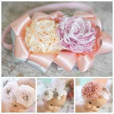 how to make baby flower headbands how to make baby headbands from fabric flowers bundle pack