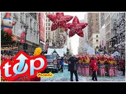 thanksgiving day parade 2017 what time to and who has the