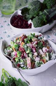 bacon sunflower seeds broccoli salad recipes broccoli salad with bacon dried