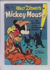 mickey mouse comics ebay