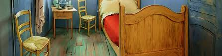 the bedroom van gogh life sized replica of van gogh s the bedroom to rent on airbnb for