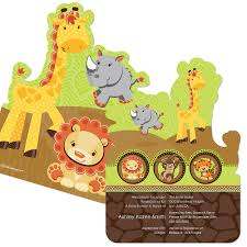 funfari fun safari jungle baby shower theme