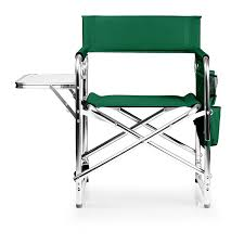 Nice Folding Chairs by Amazon Com Picnic Time Portable Folding U0027sports Chair U0027 Hunter
