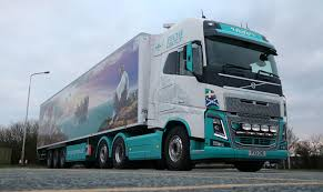 new volvo commercial penfro peche adds barnstorming volvo fh16 to its fleet