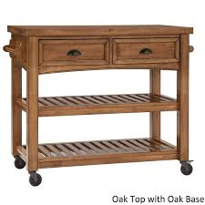 overstock kitchen island eleanor two tone rolling kitchen island by inspire q classic