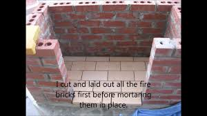 How To Make A Brick Patio by How To Build An Outdoor Fireplace Youtube