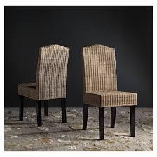 Safavieh Bistro Chairs Odette Wicker Dining Chair Set Of 2 Safavieh Target