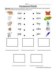 best 25 compound words worksheet ideas on pinterest compound