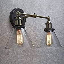 Edison Wall Sconce Claxy Ecopower Industrial Edison Simplicity 2 Light Wall Mount