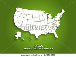us map outline eps united states map outline eps stock vector detailed usa map on
