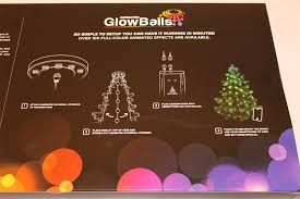 starter 80 animated christmas tree glowballs light show by geek my