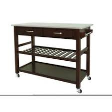 kitchen island cart with stainless steel top crosley stainless steel top portable kitchen cart island