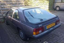 1982 renault fuego in het wild renault fuego 1984 autonieuws autoweek nl