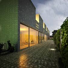 transformation to courtyard homes the hague rs roeleveld