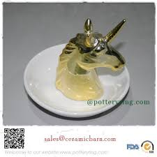 ceramic unicorn ring holder images Unicorn decor by design home d cor jpg
