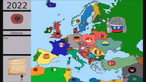 Balkan States Map by Alternate Future Of Europe In Country Balls 2 Episode