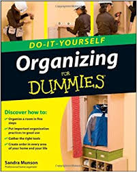 organizing yourself organizing do it yourself for dummies sandra munson 9780470431115