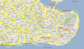 Istanbul Map Istanbul Apart Homes